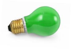 Light bulb on white #2 stock image