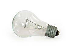 Light bulb on white background Stock Photography
