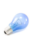 Light bulb on white background. Royalty Free Stock Photos