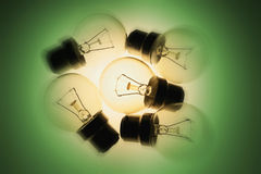 Light Bulbs Royalty Free Stock Images