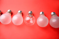 Light bulbs Royalty Free Stock Image