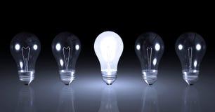 Light Bulbs Stock Image