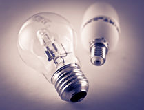 Light bulbs Stock Image