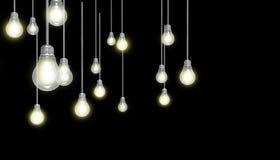 Light Bulbs Concept Art Royalty Free Illustration