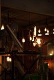 Light bulbs. On dark background Stock Image