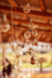 Light bulbs decor haning Royalty Free Stock Images