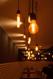 Light bulbs with depth of field Royalty Free Stock Photography