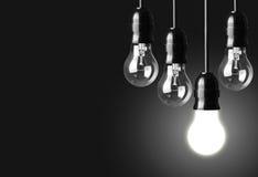 Light bulbs Stock Photography