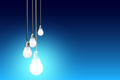 Light bulbs Idea Royalty Free Stock Images