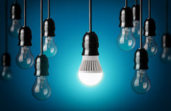 Light bulbs Stock Photography