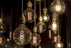 Light Bulbs. Interior decoration Royalty Free Stock Image