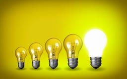Light bulbs Royalty Free Stock Photography