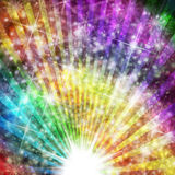 Light burst. Lights background with star burst effects for party or invitations royalty free illustration