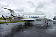 Light business jet Embraer EMB-505 Phenom 300. Stock Photos