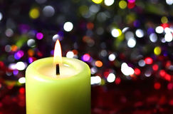 Light candle Stock Photography