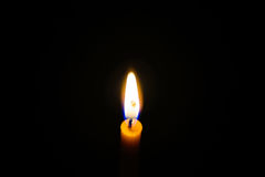 Light candle Royalty Free Stock Photography