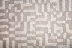 Light carpet with pattern stock image