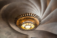 Light in Casa Batllo. Light of Basa Batllo designed by Antonio Gaudi in Barcelona, Spain royalty free stock images