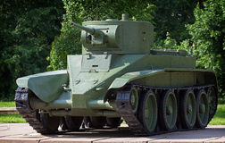 Light cavalry tank BT-5 Royalty Free Stock Photos
