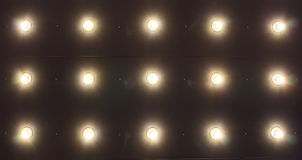 Light on Ceiling Royalty Free Stock Images
