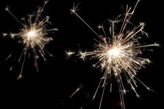 Light Celebration. Sparkly Light Cerebration Stock Image