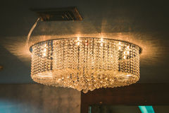 Light of chandelier stock images