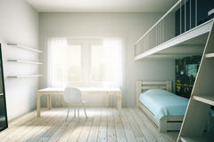 Light child room interior Royalty Free Stock Photos