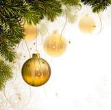 Light Christmas background Stock Photo