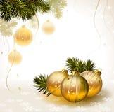 Light Christmas background Stock Photography