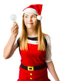 In light of christmas ideas Stock Photo