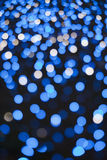 Christmas lights. In the night Royalty Free Stock Photos