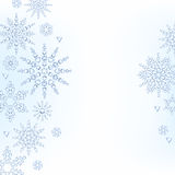 Light christmas new year winter snowflakes. Light christmas new year snowflakes background. Winter holiday design Royalty Free Stock Photos