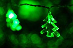 Light christmas tree Royalty Free Stock Photos