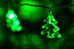 Light christmas tree Royalty Free Stock Photos