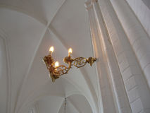 Light in church Royalty Free Stock Image