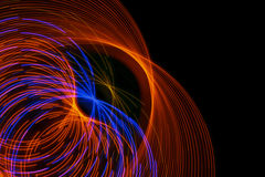 Light circles Stock Image