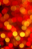Light circles. Circles of light - abstract Christmas decoration Stock Image