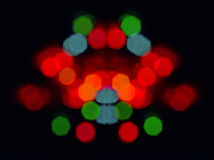 Light circles Royalty Free Stock Images