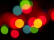 Light circles Stock Photo