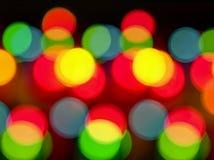 Light circles Stock Images