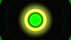 Light Circles Green stock video