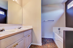 Light clean minimal bathroom interior Royalty Free Stock Photo