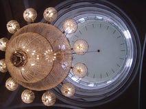 Light Clock Royalty Free Stock Image
