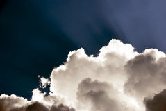 Light and clouds stock photos