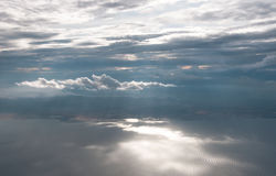 Light through Clouds Royalty Free Stock Photos