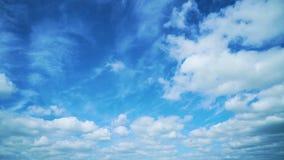 Light clouds stock video