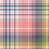 Light color check plaid pixel seamless pattern. Vector illustration Royalty Free Stock Photo