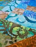 Light Colored fabric blocks Stock Photo