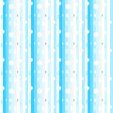 Light colored  line pattern. Color striped pattern including seamless sample in swatch panel Stock Images