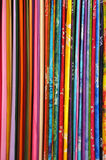Light Colorful Fabrics Royalty Free Stock Images